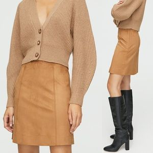 ARITIZA Babaton Modern Mini Skirt GREY